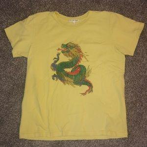 Yellow Dragon Tee